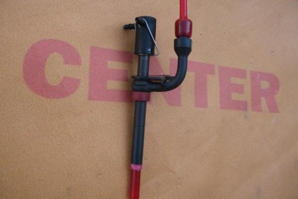 Injector dunne bordeau rood Ford Transit 1995-1998 nieuw